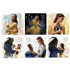 s BEAUTY and THE BEAST STICKER ASSORT