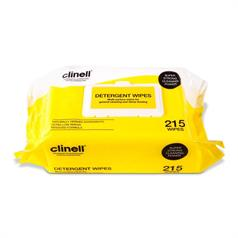 PACK OF CLINELL DETERGENT 215 WIPES