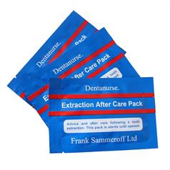 DENTANURSE EXTRACTION AFTER CARE PACK