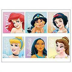 DISNEY PRINCESS CLASSIC STICKER ASSORT