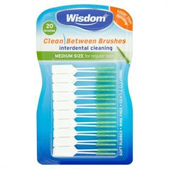 WISDOM CLEAN BETWEEN MED I/DENTAL GREEN