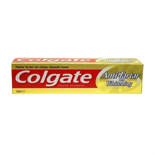 Colgate Anti Tartar & Whitening Toothpaste 100ml