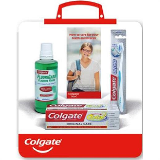 Colgate Orthodontic Starter Kit (Pack of 6)