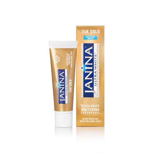 Janina Ultra White 24k Gold Toothpaste 75ml