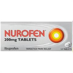 NUROFEN 200mg TABLETS PK 12