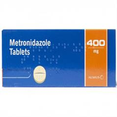 s METRONIDAZOLE 400mg TABS PK 21
