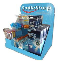 SMILESHOP MULTI PURPOSE CARDBOARD CDU