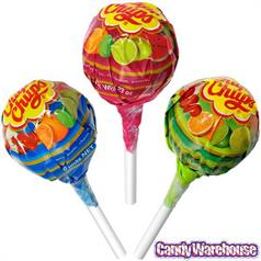 CHUPA CHUPS SUGAR FREE FRUITY LOLLIPOP