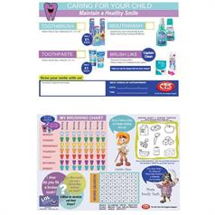 CTS CHILD RECOMMENDATION PADS PK 50