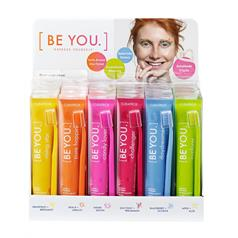 BE YOU T/PASTE DISPLAY 24 x 90ml