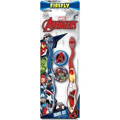 AVENGERS TWIN T/BRUSH and TRAVEL CAP