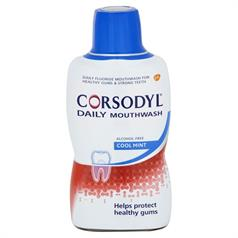 p CORSODYL DAILY A/FREE COOLMINT 500ml M/R