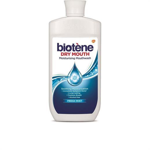 Biotene Dry Moth Care 500ml Mouth Rinse