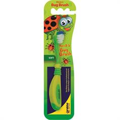 PIKSTERS BUG BRUSH YRS 2-5 T/BRUSH