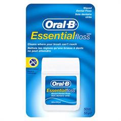 ORAL B ESSENTIAL FLOSS MINT WAXED 50mtr