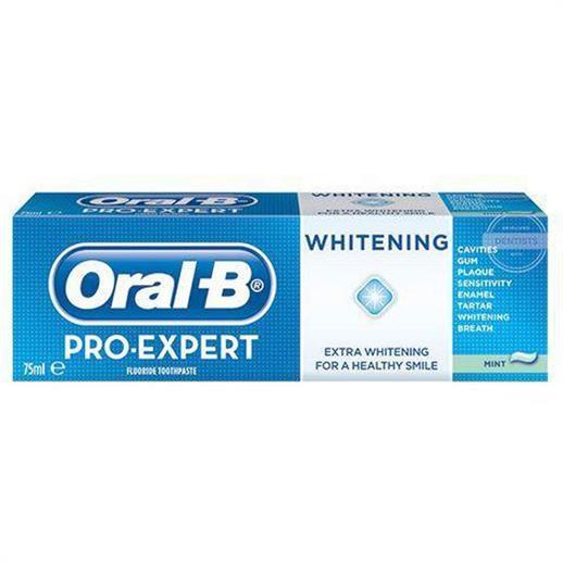Oral B Pro Expert Whitening Toothpaste 75ml