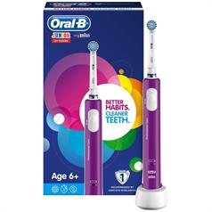 s ORAL B JUNIOR YRS 6+ POWER HANDLE PURPLE