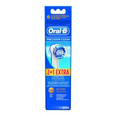 ORAL B PREC CLEAN REPL HDS 3 FOR 2 EB20