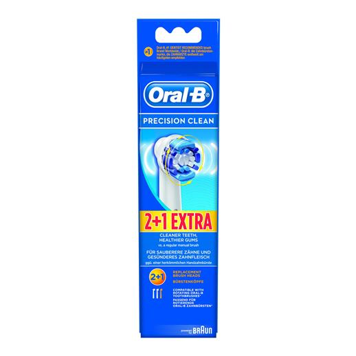 Oral B: Precision Clean – Replenish Heads (3 for 2) EB20