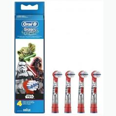 ORAL B STAR WARS REPL HDS FOUR PK EB10