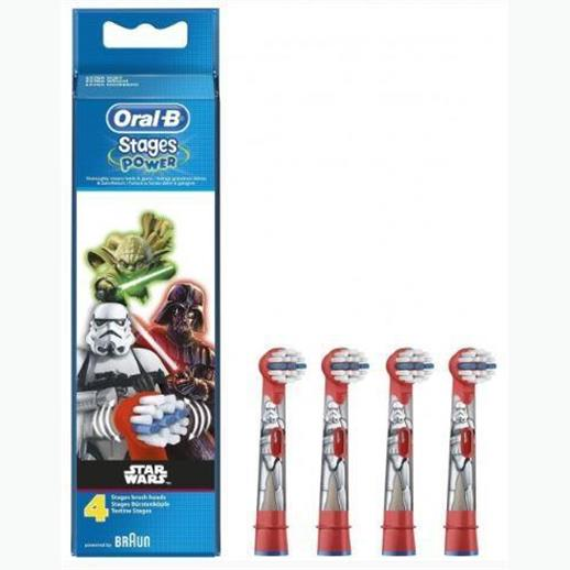 Oral B: Star Wars – Replenish Heads (Pack of 4) EB10