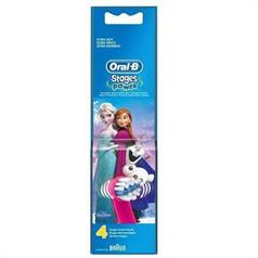 ORAL B FROZEN REPL HDS FOUR PK EB10