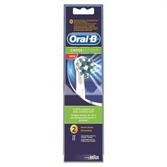 s ORAL B X ACTION REPL HDS TWIN PK EB50