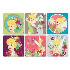 TINKER BELL STICKER ASSORT