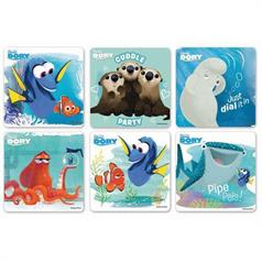 FINDING DORY STICKER ASSORT