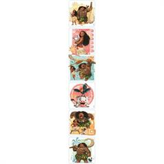 DISNEY MOANA STICKER ASSORT