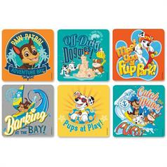 PAW PATROL STICKER ASSORT