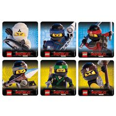 s NINJAGO LEGO STICKER ASSORT