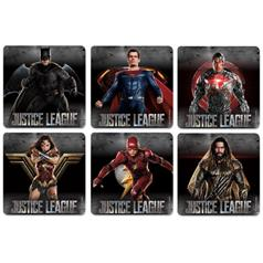 JUSTICE LEAGUE STICKER ASSORT
