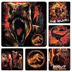 JURASSIC WORLD 2 STICKER ASSORT