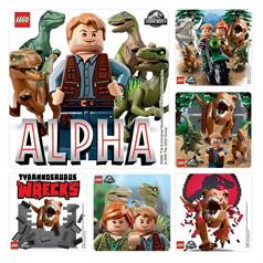 LEGO JURASSIC WORLD 2 STICKER ASSORT