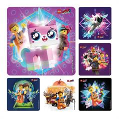 LEGO MOVIE STICKER ASSORT