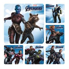 AVENGERS END GAME STICKER ASSORT