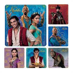 DISNEY ALADDIN STICKER ASSORT