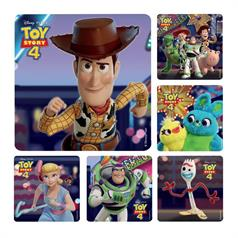 TOY STORY 4 STICKER ASSORT