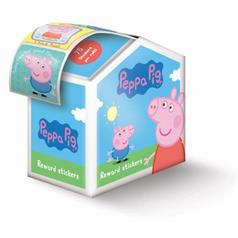PEPPA PIG FOIL STICKER ASSORT