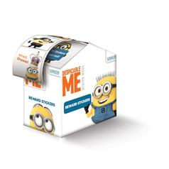 DESPICABLE ME FOIL STICKER ASSORT