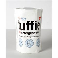 s FLEXI CAN OF TUFFIE DETERGENT 150 WIPES
